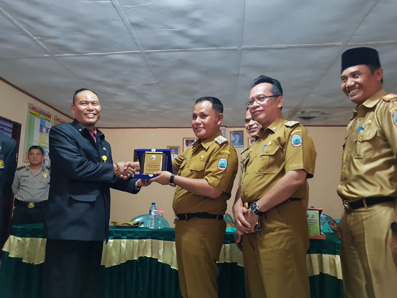 Peserta Diklat Pemprov Sumatera Selatan Praktek Lapangan ke Lamsel