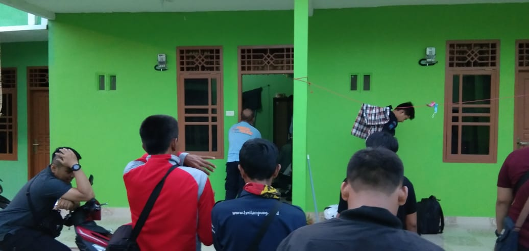 BNNP Lampung Geledah Rumah Kepala LP dan Indekot Sipir di Kalianda