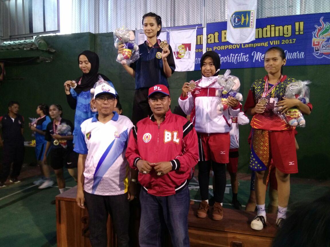 Perolehan Medali Pekan Olahraga Provinsi Sementara (Jumat)