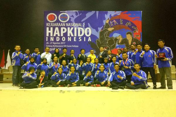 Hapkido Lampung Sabet Tiga Penghargaan di Kejurnas
