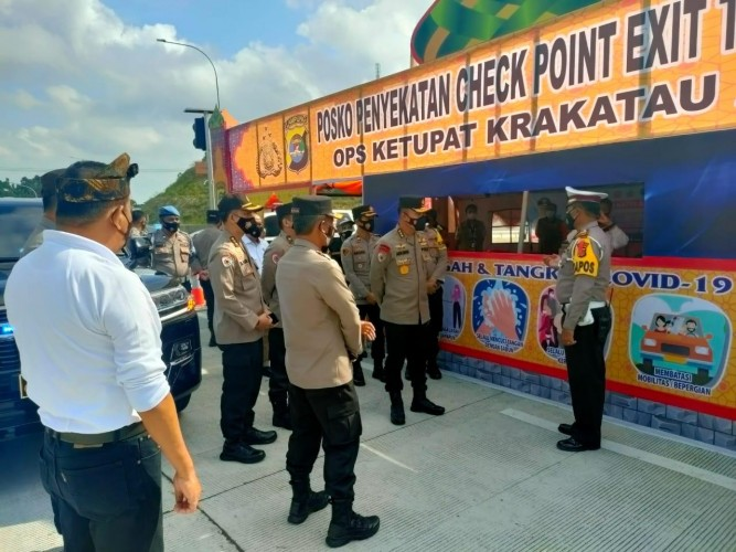1.188 Kendaraan Masuk Lampung via Bakauheni