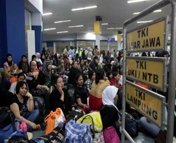 1.675 TKI Asal Lampung Pulang Sepanjang Januari-Mei