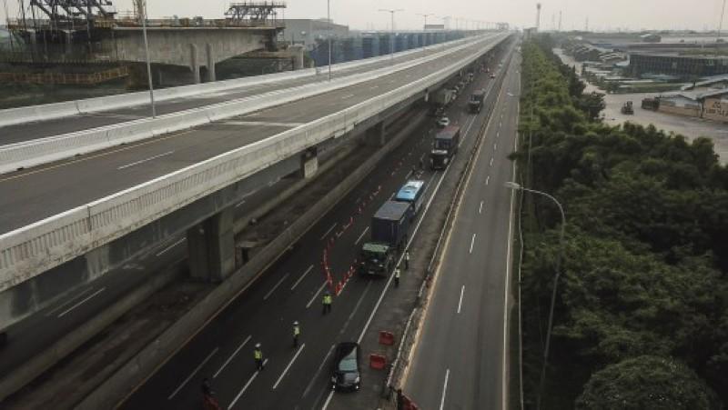 10.537 Kendaraan Asal Jakarta Diminta Putar Balik