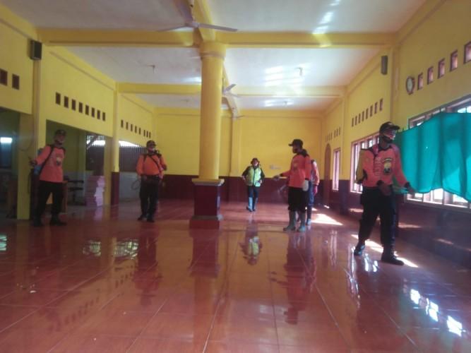 10 Kecamatan di Lampura Jadi Sasaran Penyemprotan Disinfektan