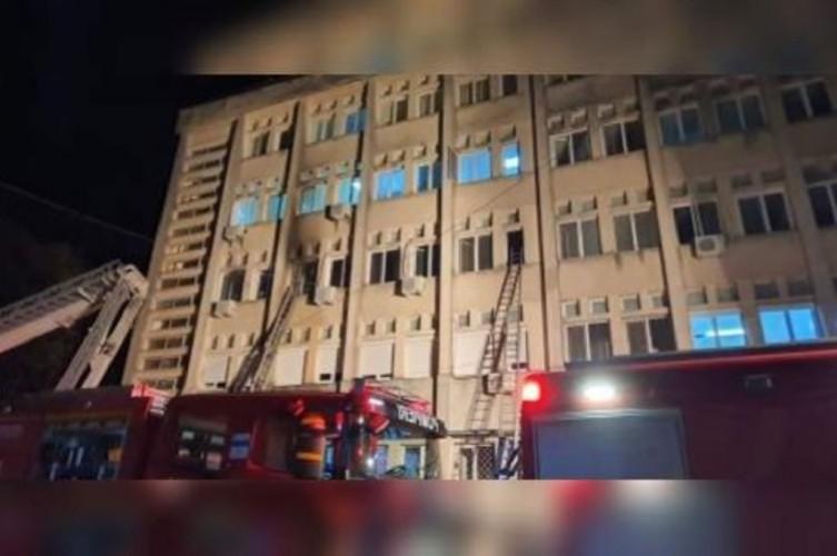 10 Pasien Covid-19 Tewas dalam Kebakaran Rumah Sakit di Rumania