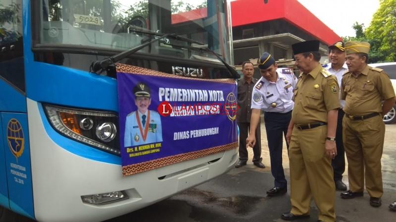 10 Unit Bus dari Kemenhub Digunakan Untuk Penumpang Umum