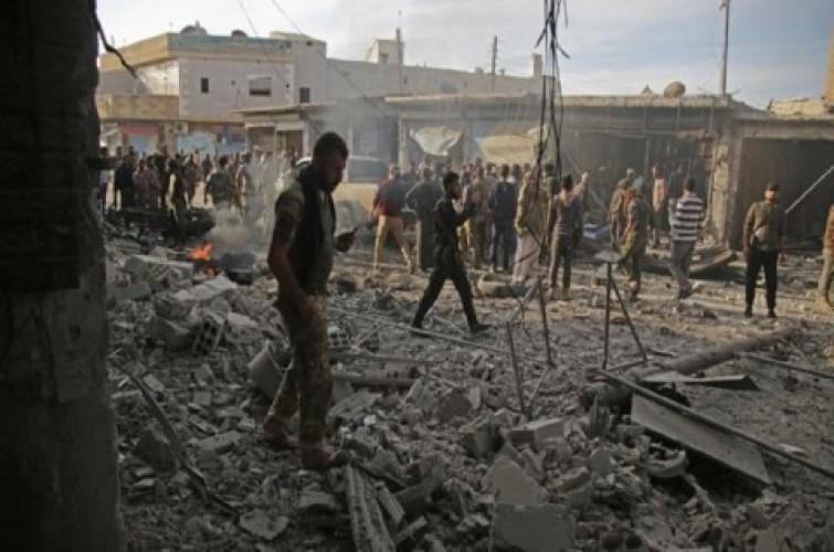 10 Warga Sipil Suriah Tewas dalam Ledakan Bom Mobil