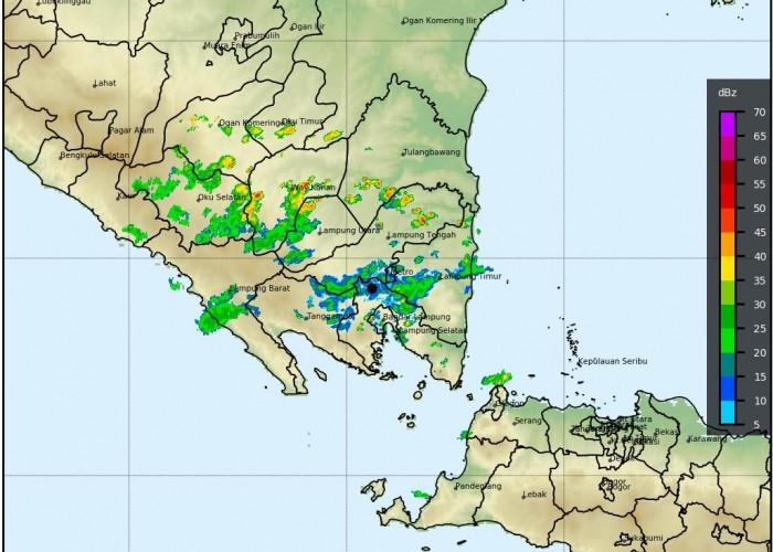10 Wilayah di Lampung Berpotensi Hujan Lebat