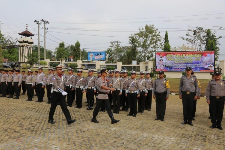 101 Polisi Dikerahkan dalam Operasi Patuh di Lampura