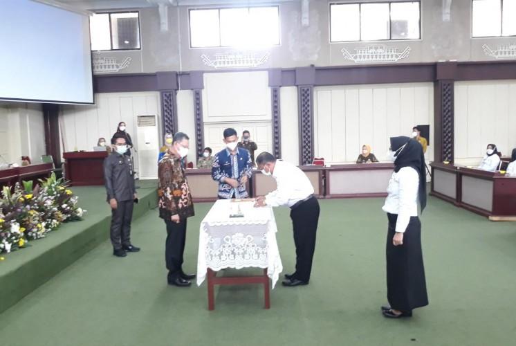 106 PPPK di Lingkungan Pemprov Lampung Dapat SK