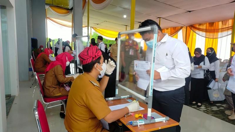 11 Peserta Tes CPNS Lampung Terpapar Covid-19