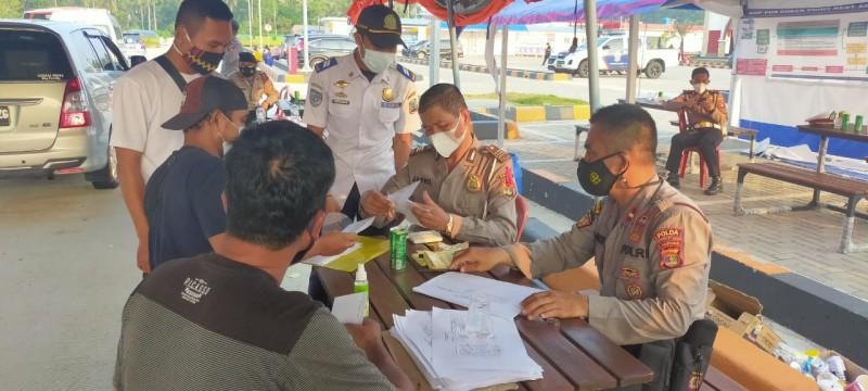 113.594 Kendaraan Menuju Pelabuhan Bakauheni Selama Arus Balik Lebaran