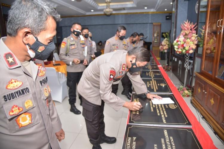 12 Polsek Baru di Lampung Diresmikan