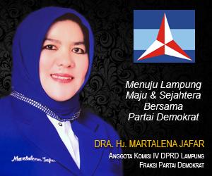 Martalena Jafar Pimpin Perempuan Demokrat Lampung