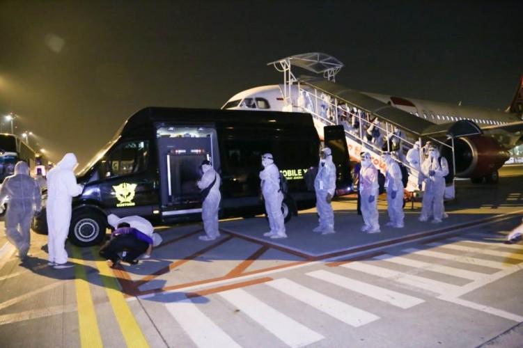 129 Pekerja Migran dan Awak Kapal Terlantar di Taiwan Dipulangkan