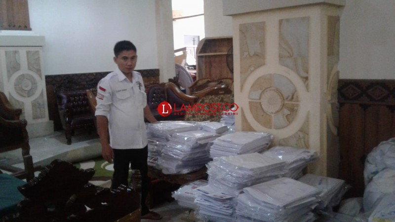 13.516 Lembar Surat Suara di Lampung Timur Rusak