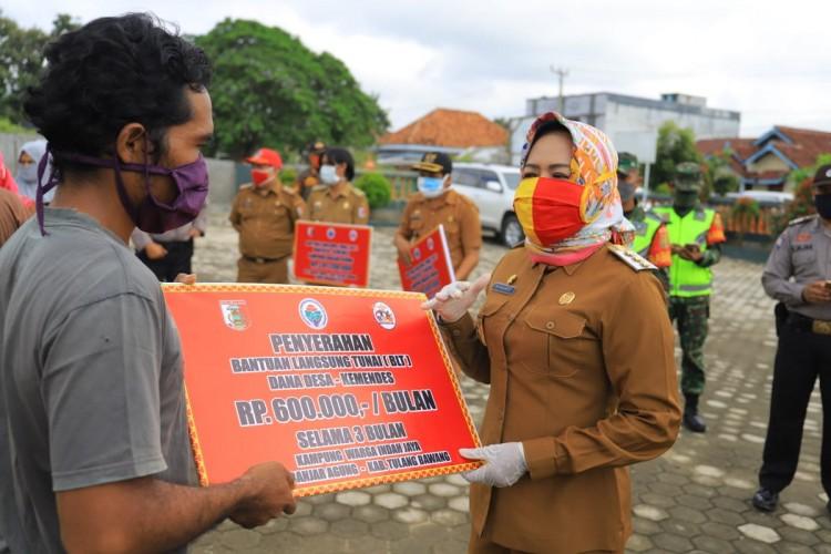 13.978 KK di Tulangbawang Bakal Terima BLT Dana Desa