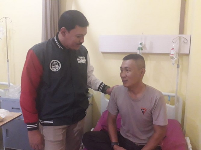 13 Anggota SPN Keracunan Dirawat Intensif