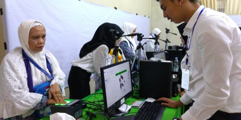 13 Embarkasi Bisa Rekam Biometrik Jemaah