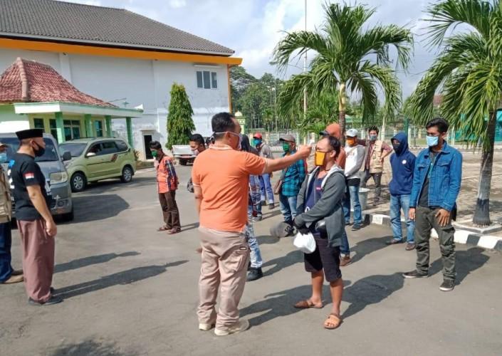 13 Pekerja Migran Asal Lampung Pulang Kampung