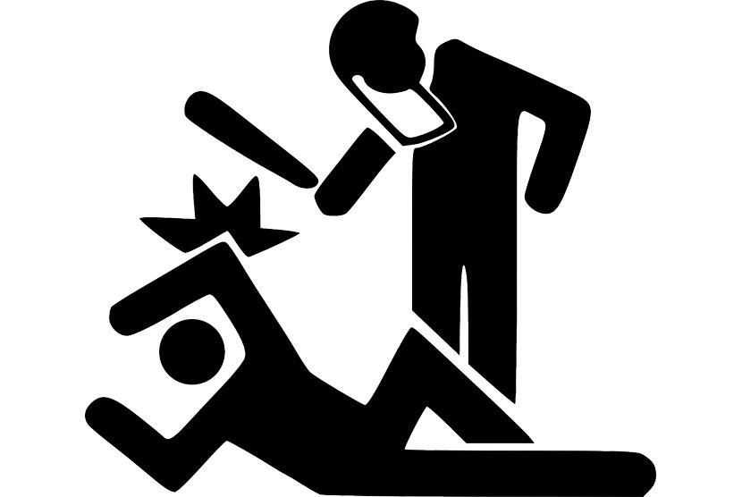Bacok Tetangga, Pria Paruh Baya Diamankan Petugas Kepolisian