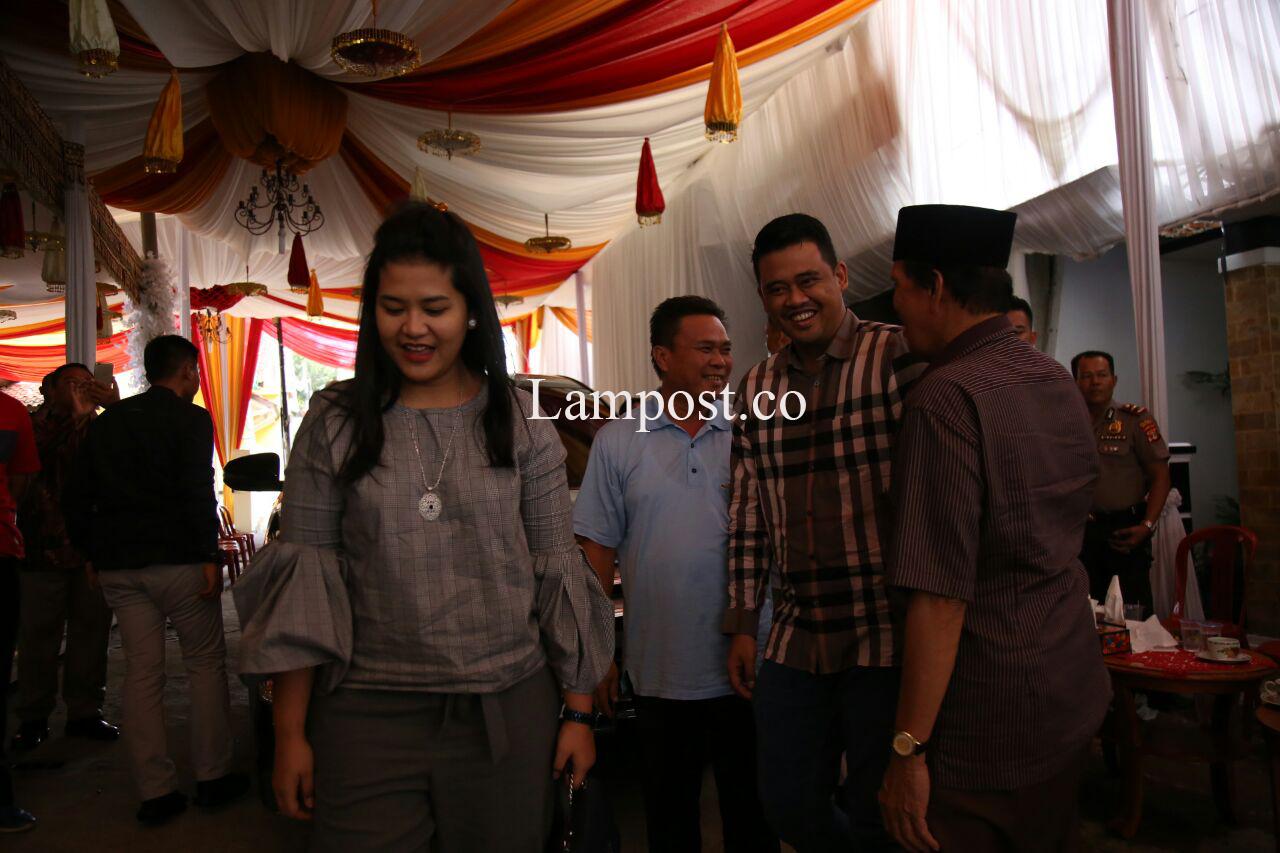 Kahiyang Ayu dan Bobby Afif Nasution Hadiri Pernikahan Rekan SMA di Bandar Lampung