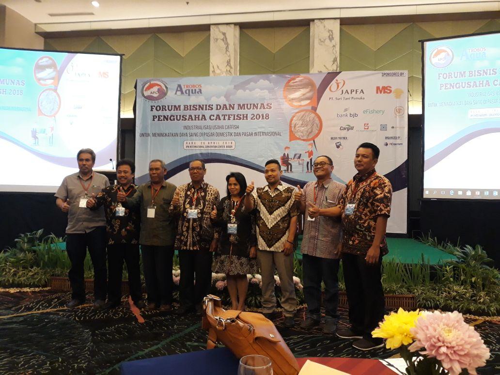 Terpilih Ketua Bidang Pengembangan Usaha di APCI Pusat, Aribun Dorong Industrialisasi Hilir Catfish