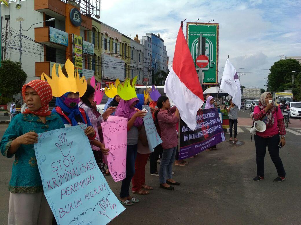 Solidaritas Perempuan Serukan Perlindungan Buruh Imigran