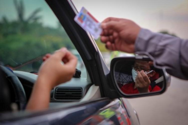 14.500 Kendaraan Diputar Balik karena Tak Punya SIKM