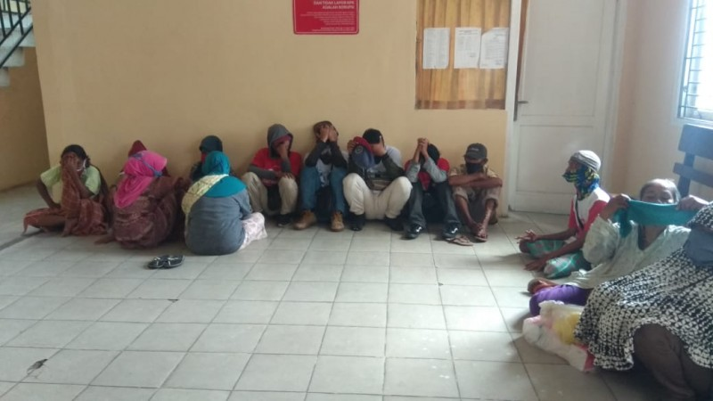 14 Gelandangan dan Pengemis Terjaring Razia Satpol PP Bandar Lampung