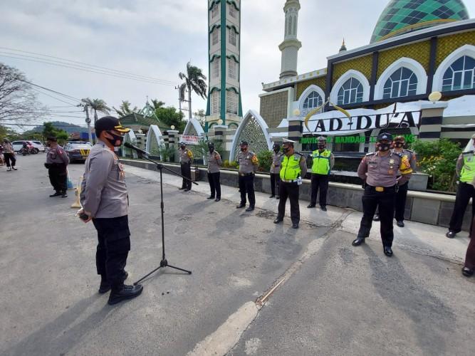 147 Personel Polisi Disiagakan untuk Pengamanan Kunjungan Dakwah Abdul Somad