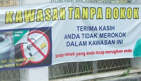 Contoh Spanduk Larangan Merokok - gambar spanduk