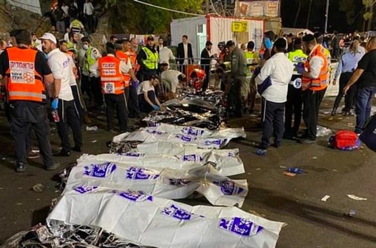 15 Warga Israel Tewas Terhimpit dalam Perayaan Keagaamaan