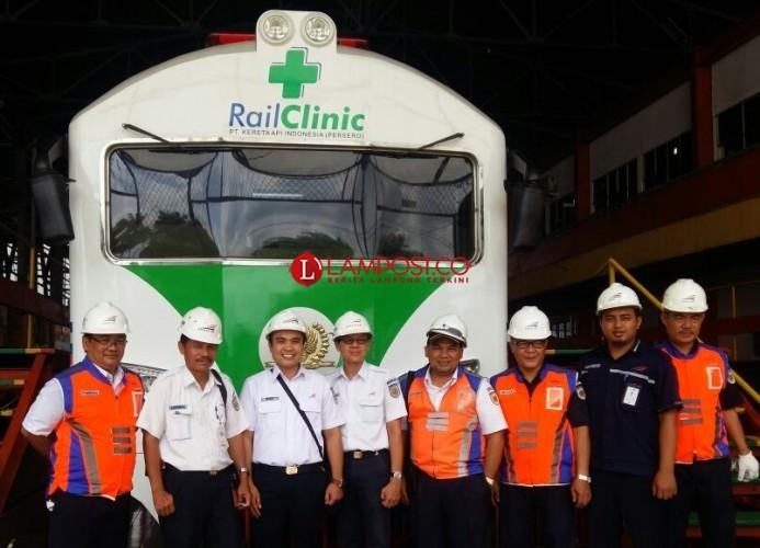 Rail Clinic PT Persero Lampung, Siap Fasilitasi Pemudik 2018