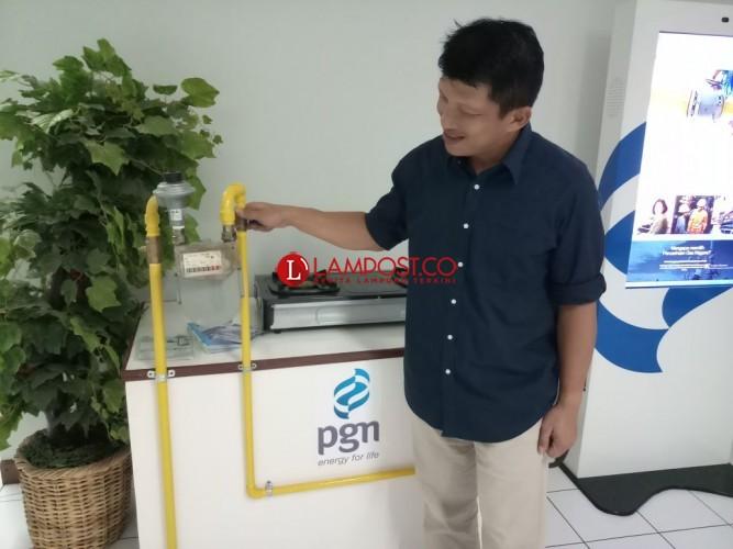 Jaringan Gas di 8 Kecamatan akan Diresmikan Pemerintah Pusat