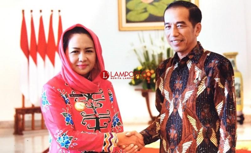 Winarti Perjuangkan Program Strategis Langsung ke Jokowi