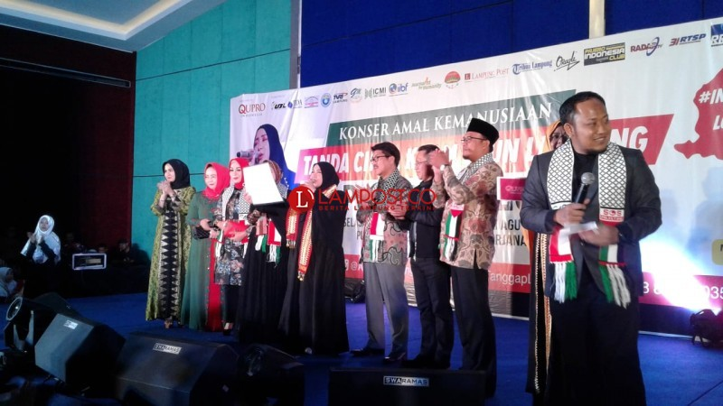 Konser Amal Lombok-Palestina Galang Dana Nyaris Tembus Rp1 Miliar
