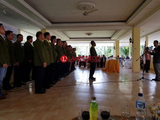 Dilantik Jadi Ketua PGI Lampung, Ini Langkah Warno