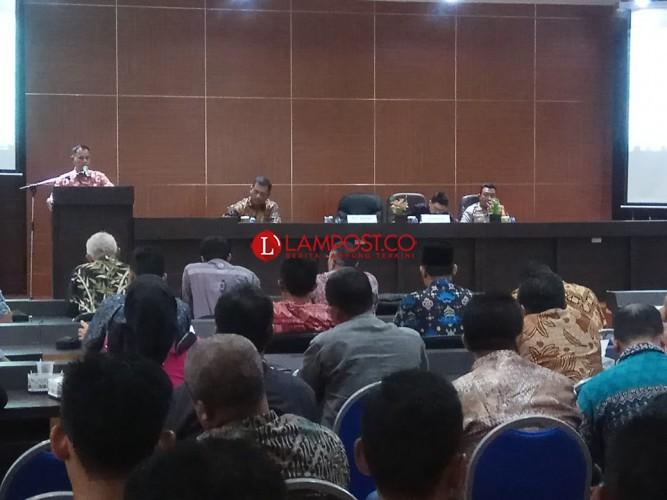 Hadiri Rapat Ganti Rugi Tol, Nanang Minta Pengembang Perbaiki Jalan Rusak