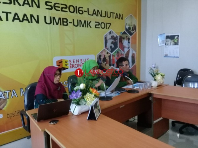 Turun, NTP Lampung Masih Tertinggi Se-Sumatera