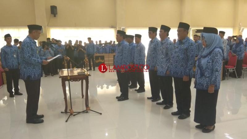 Pengurus Korpri Kota Bandar Lampung Masa Bakti 2019-2024 Dikukuhkan