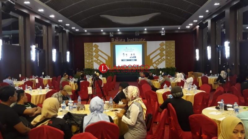 Rakata: Sementara Jokowi-Amin Unggul di Lampung