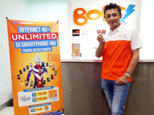 Pertama di Indonesia, Bolt Luncurkan Kartu Prabayar Unlimited