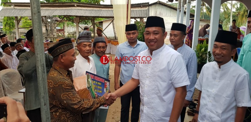Umar Ahmad Minta Masyarakat Gunungagung Dukung Program Mantra