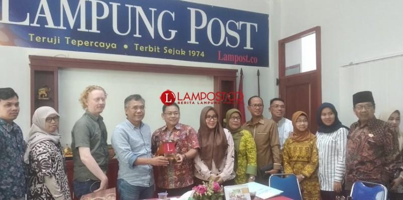 DPRD Banten Sambangi Lampung Post, Bahas Peningkatan Kerja Sama dengan Media