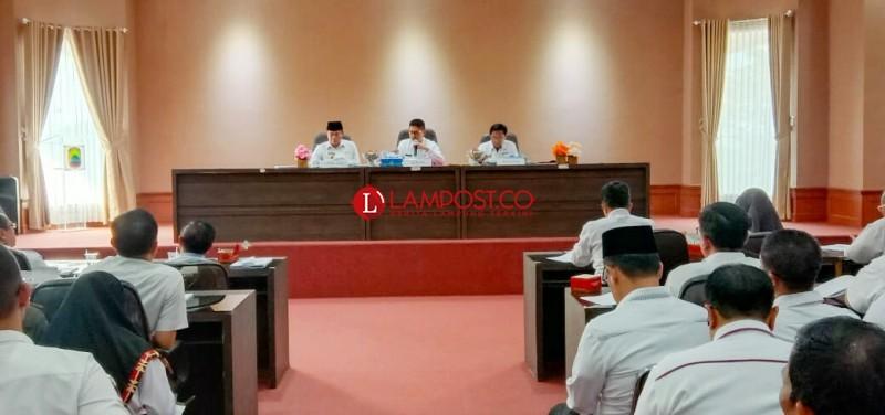 Aset Daerah Pemkab Lamsel Jadi Sorotan BPK