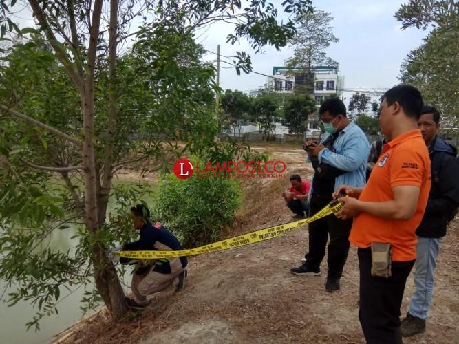 Polisi Gelar Olah TKP di Lokasi Tenggelamnya Dua Mahasiswa UIN