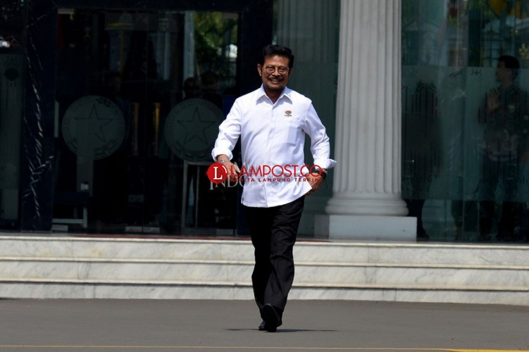 Jokowi Panggil Mantan Gubernur Sulsel Syahrul Yasin Limpo