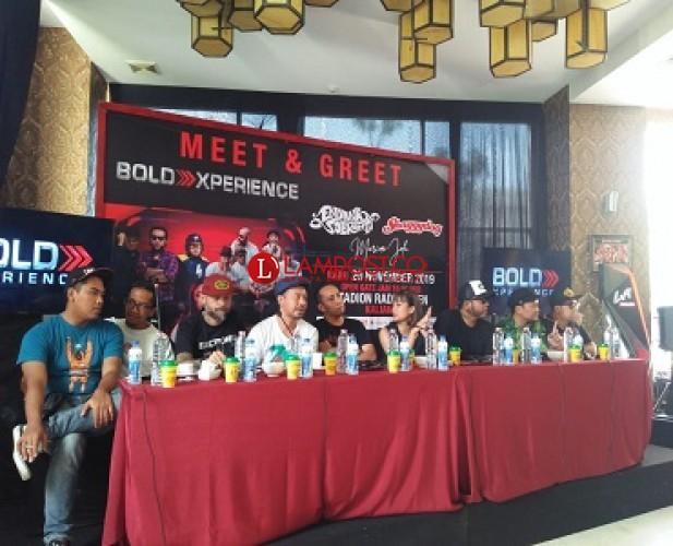 Bold Music Hadirkan Artis Ibu Kota Hibur Warga Lampung