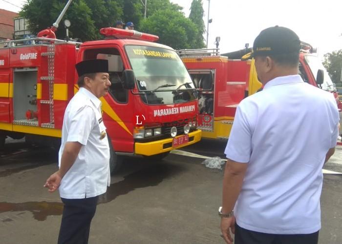 Pemkot Bandar Lampung Tambah 5 Unit Mobil Damkar